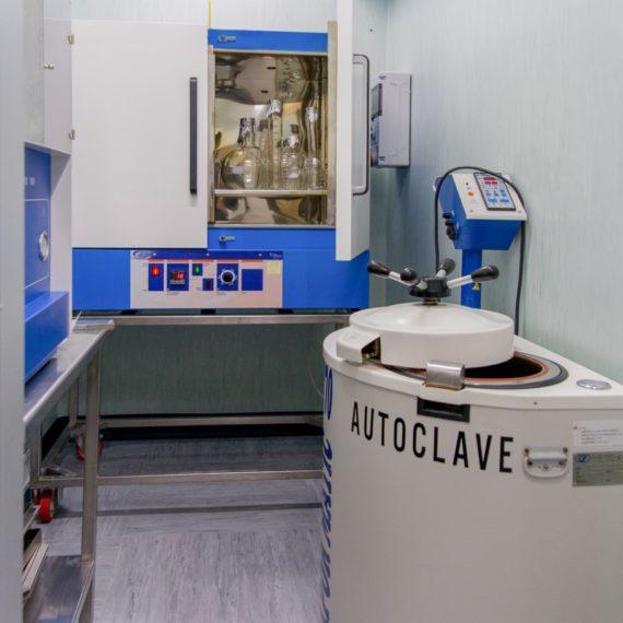 Sala Sterilizzazione e Depirogenizzazione